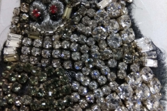 Assorted silver stones beading