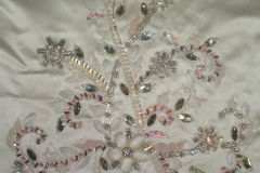 Bridal stones beadings