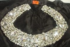 Silver Crystal Stones beadings